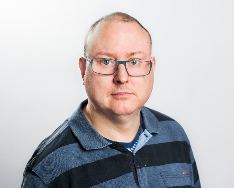 förbundsstyrelseledamot (ersättare) Krister Ekberg 2018 Fotograf: Linnea Bengtsson