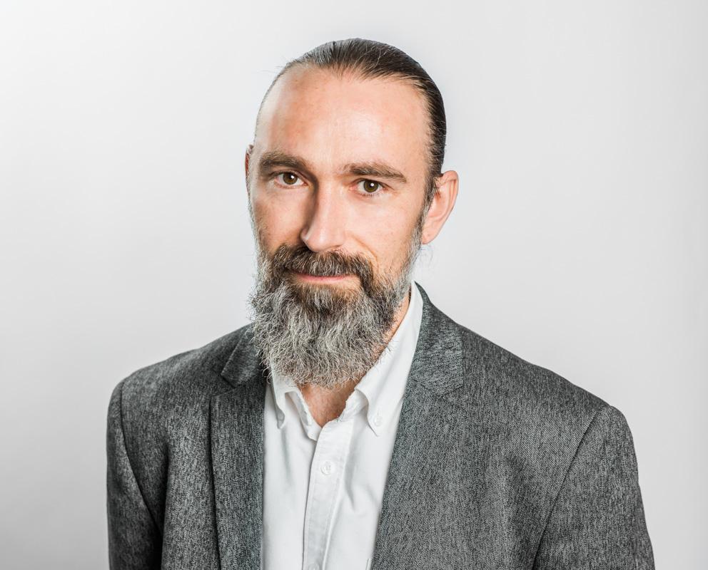redaktör för Riksförbundet FUB:s tidning Unik Magnus Carlstedt 2018 Fotograf: Linnea Bengtsson