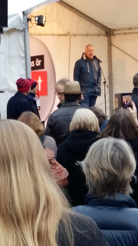 manifestation-jonas sjöstedt