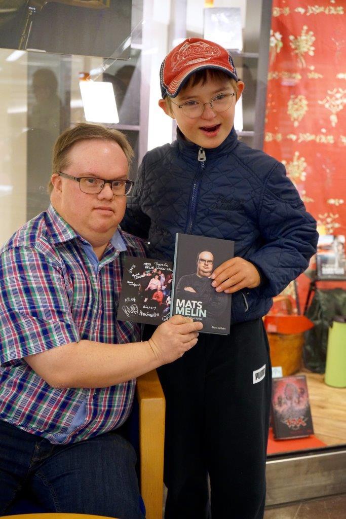 Mats Melin och Markus Dalin foto: Agneta Berghamre Heins