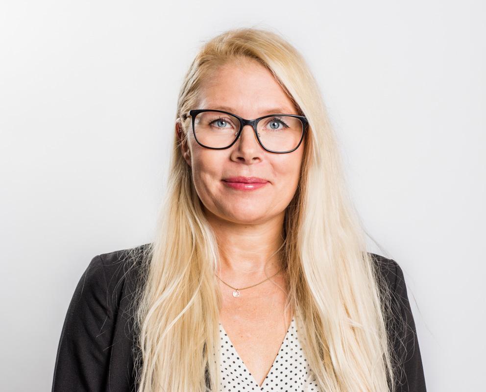 kurs- och konferensadministratör Riksförbundet FUB Pia Sandberg 2018 Fotograf: Linnea Bengtsson