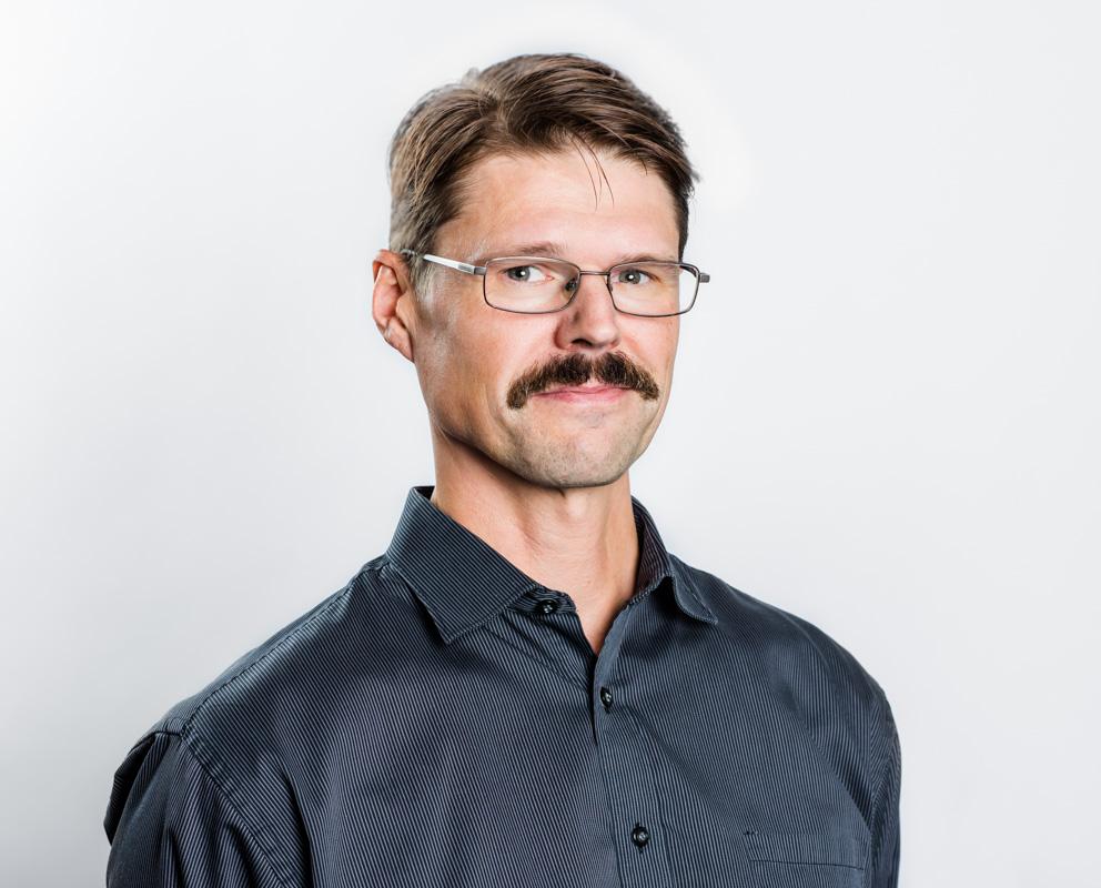 teknikansvarig Riksförbundet FUB Robert Gardsäter 2018 Fotograf: Linnea Bengtsson