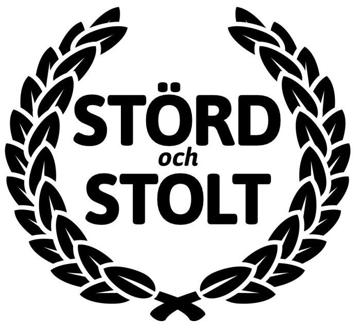 Störd och stolts logotyp