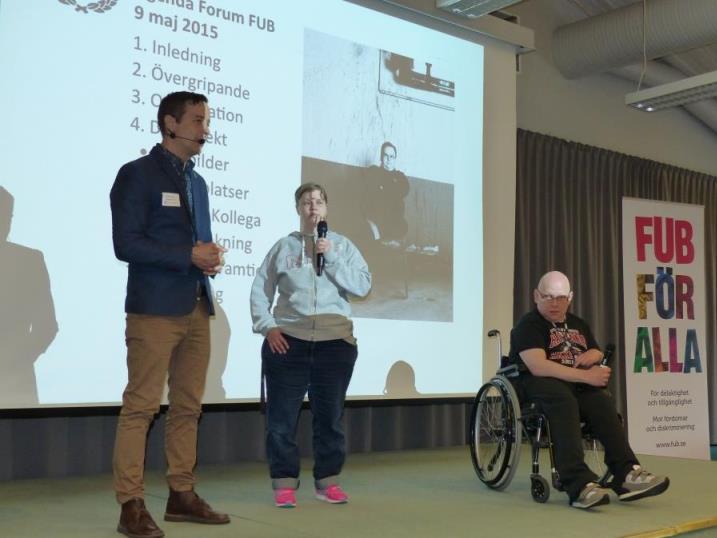 Jesper Tottie, Sara Brännström och Fredrik Berndtsson