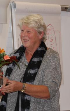 Länsförbundet ordförande Kerstin Tegnér