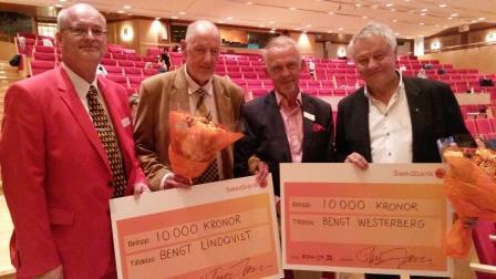 Thomas Jansson, Bengt Lindqvist, Gerhard Larsson och Bengt Westerberg