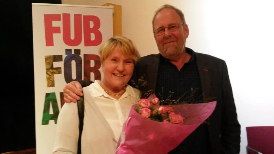 Tuula Augustsson och Hans Hallerfors på Intradagarna 2015