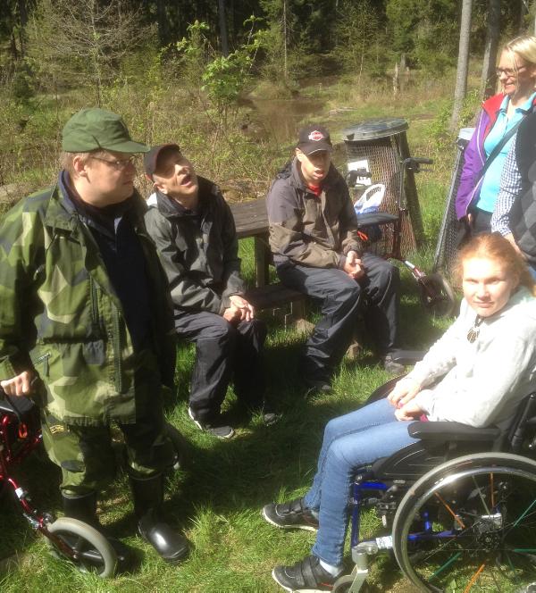 Väranäs jeepåkning Johan, Bengt, Fredrik och Josefin