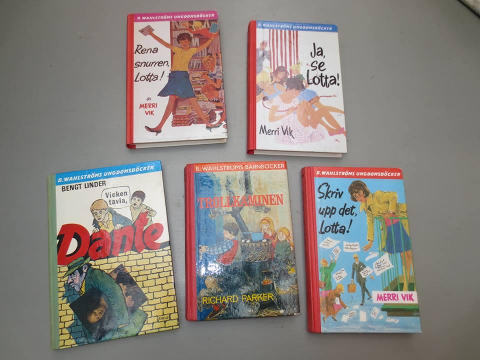 Lotta böcker