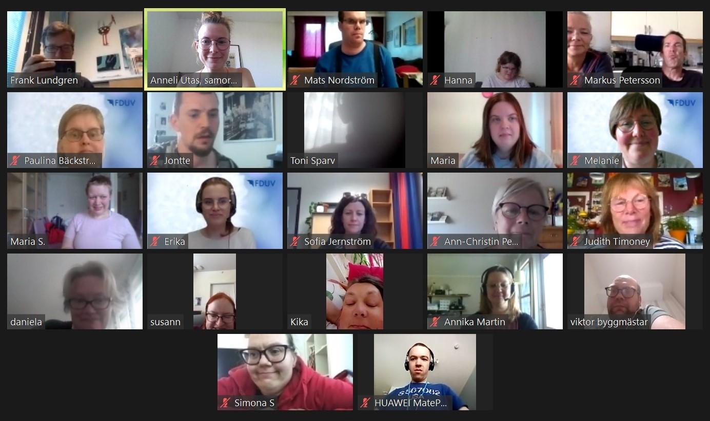 deltagare från mötet på Teams