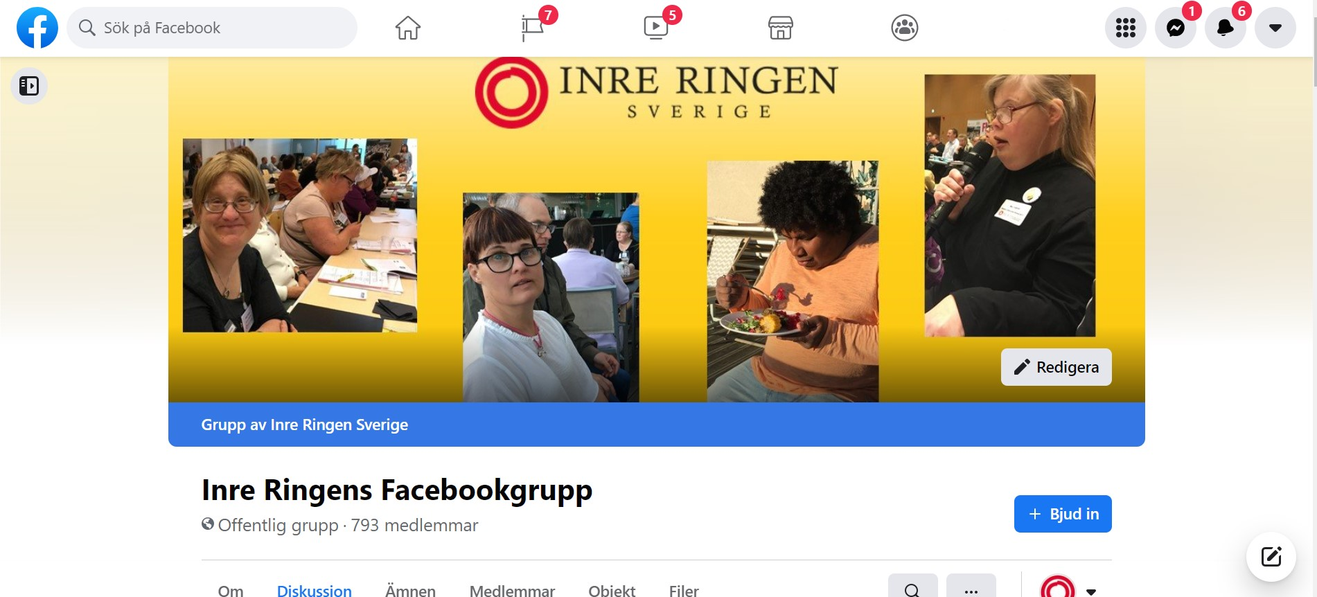 Omslagsfoto från Inre Ringens Facebookgrupp