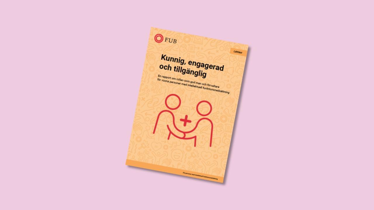 framsida av rapport föreställande två personer som håller varandra i handen