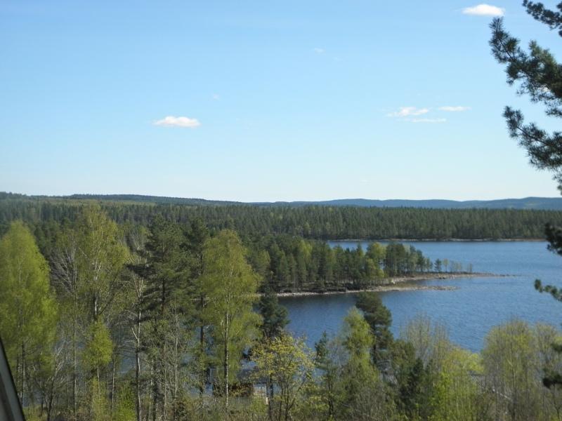 FUB-Gården Glava - Utsikt över sjön Stora Gla