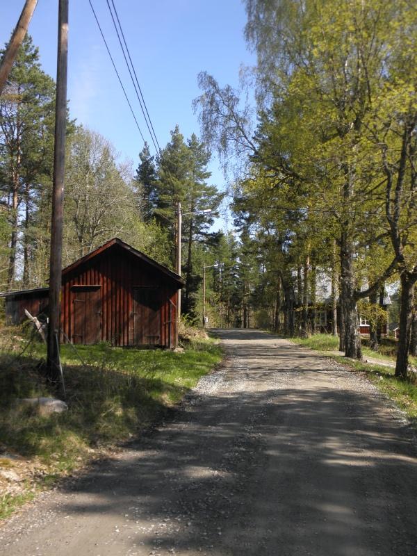 FUB-Gården Glava - Vägen utanför gården