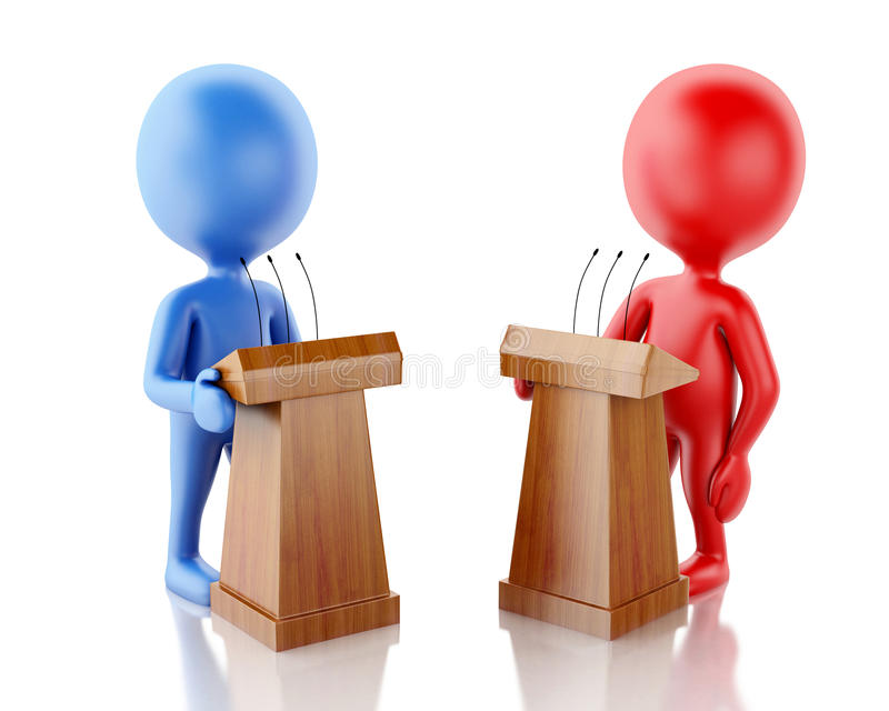 d-people-being-opponents-debate-renderer-image-white-background-74396700
