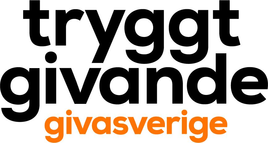 Giva Sveriges symbol för märkningen Tryggt givande