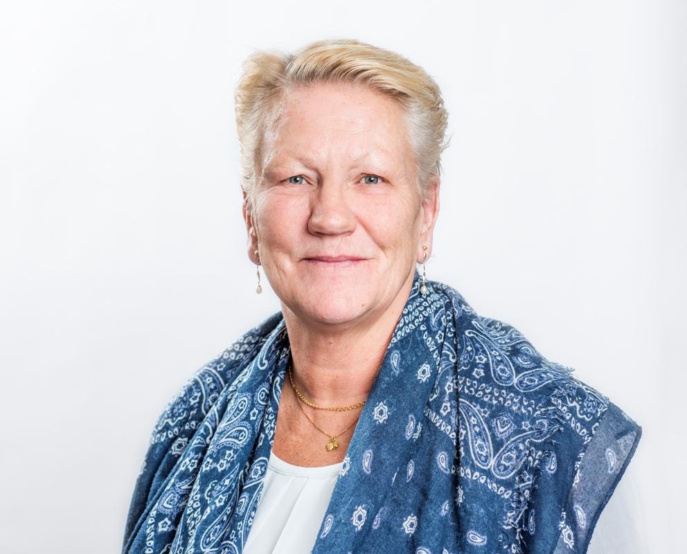 Anne Malm administratör Fotograf: Linnea Bengtsson