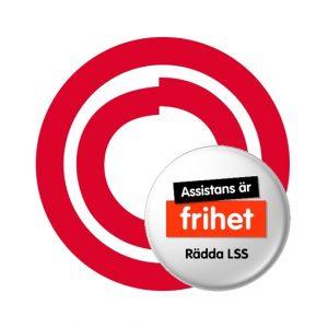 FUB-ringarna med Rädda LSS-knapp