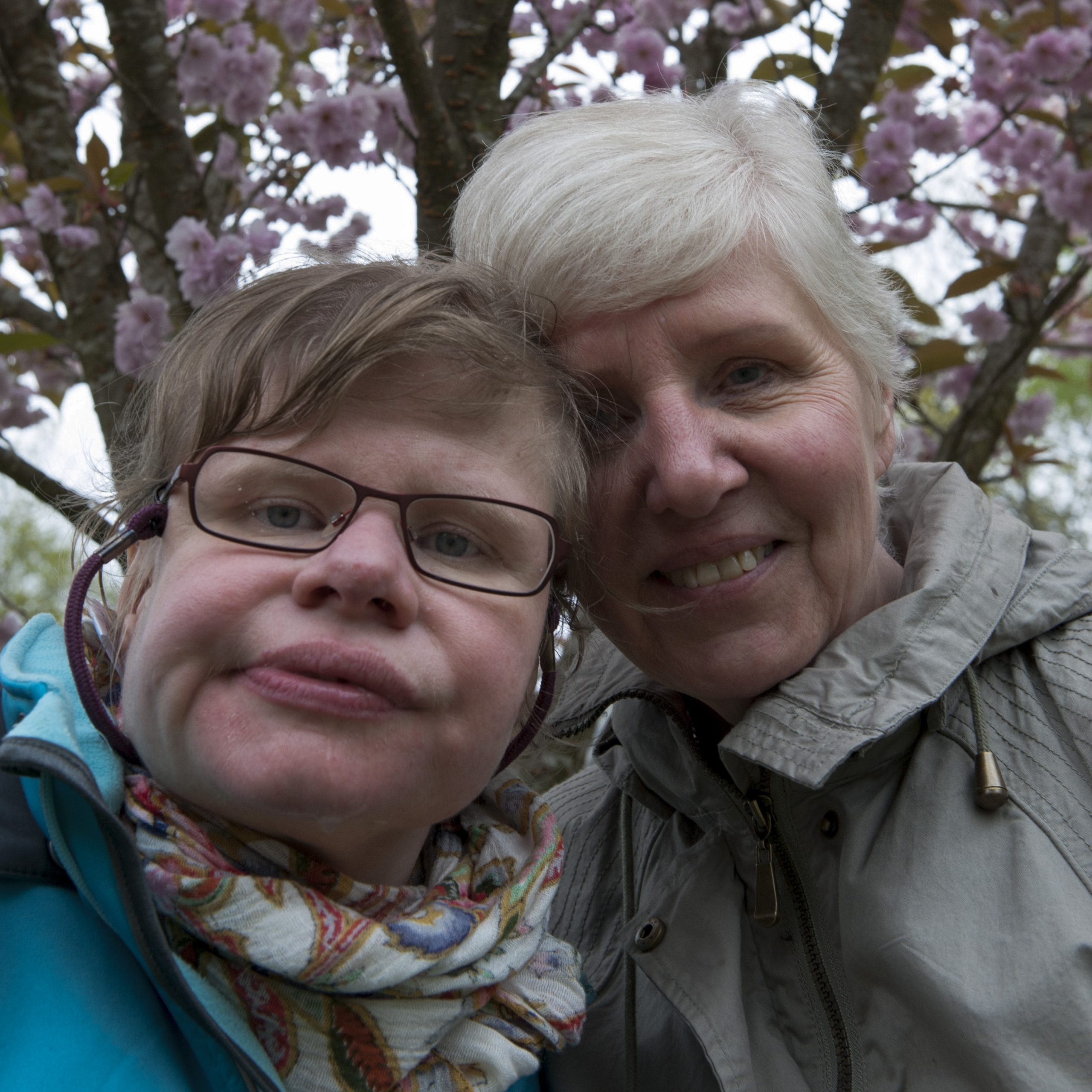 Pia och Elaine Johansson Foto: Anna Pella