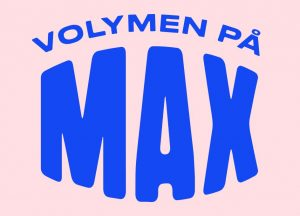 Volymen på max logotyp