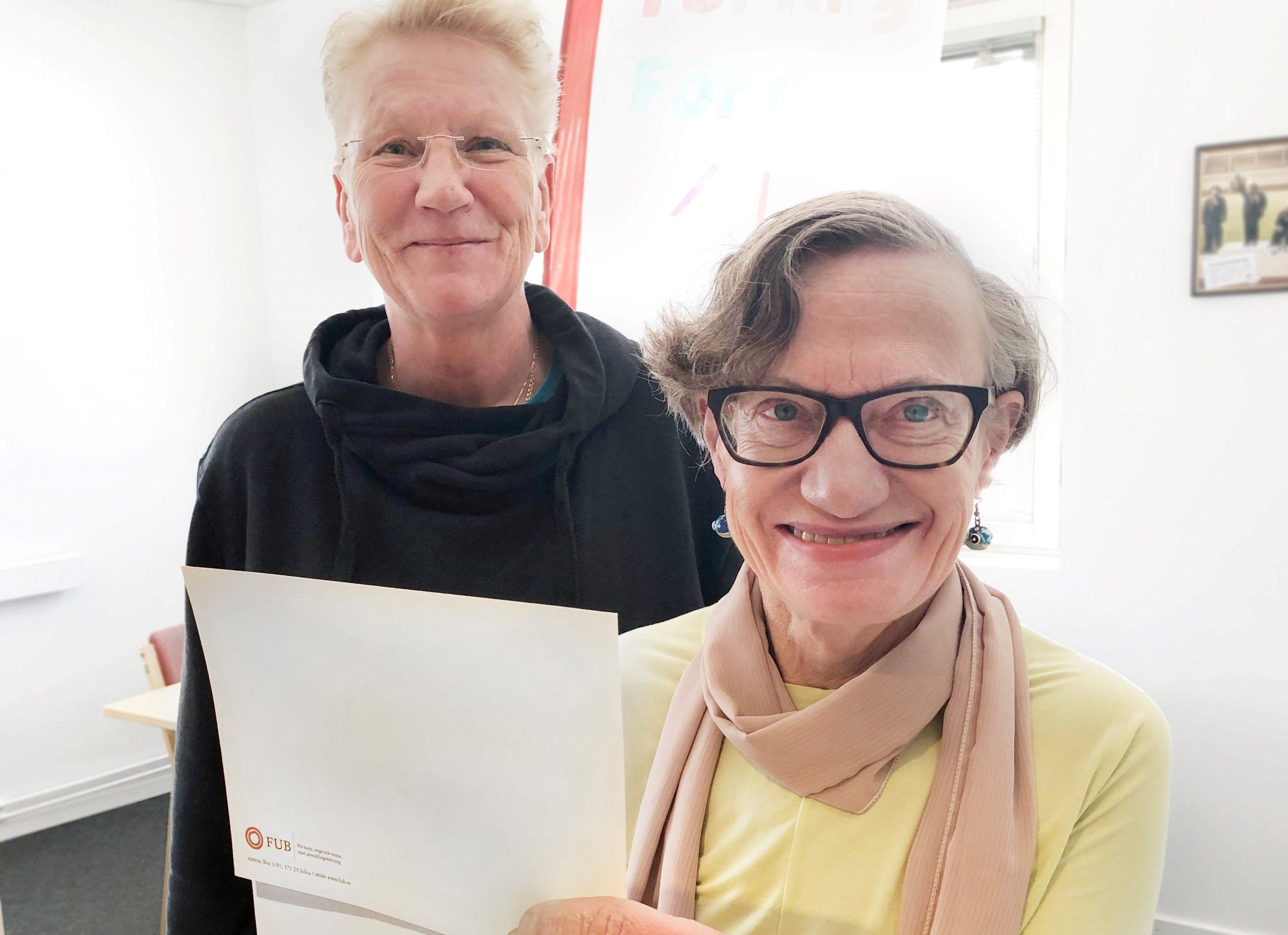 Anne Malm och Gabriella Stockman Foto: Magnus Carlstedt