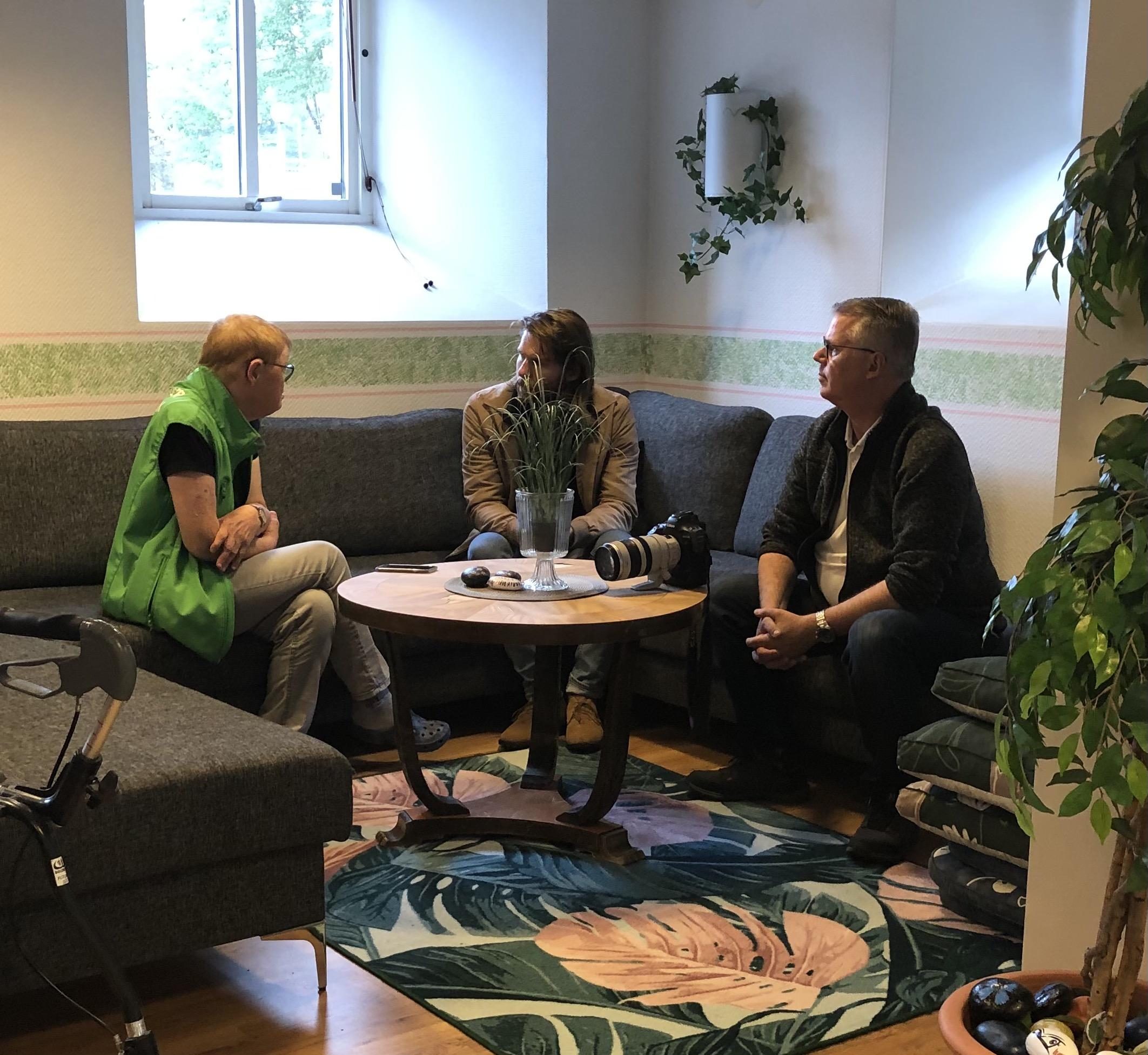 Borås tidning intervjuar Elisabeth Broberg efter utmärkelsen som Årets Inre Ringen-aktivist