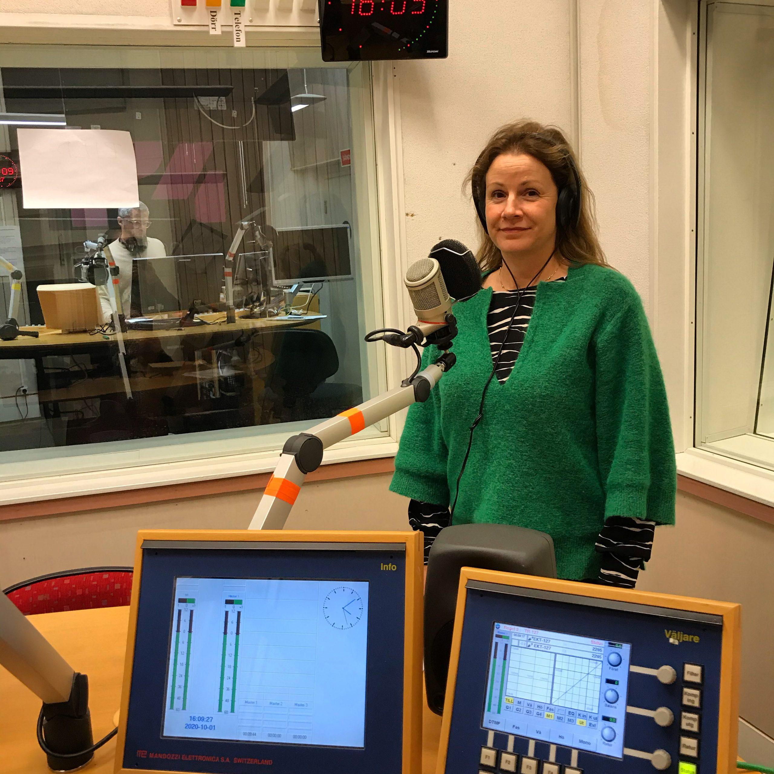 Christina Heilborn medverkar i P4 Sörmland