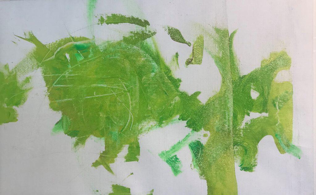 Den gröna tavlan av Meja Simola