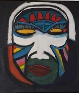 Mask av Gloria Konst