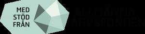 Logotyp Med stöd från Allmänna arvsfonden