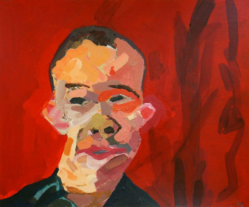 Självporträtt av Eric Gustafsson