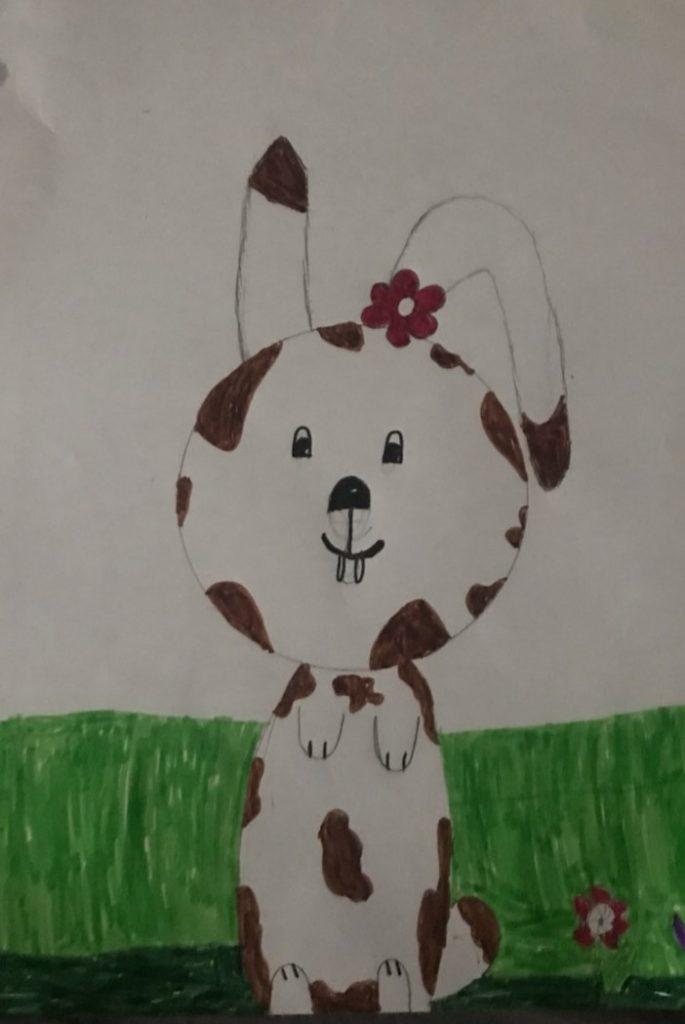 Bert i gräset av Linnea Burell