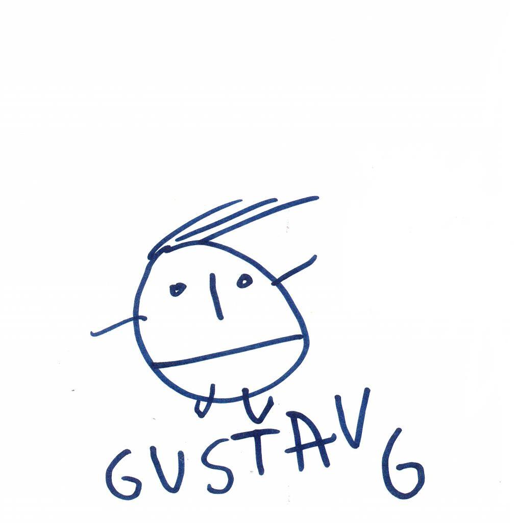 Gubbar Av Gustav Klasén