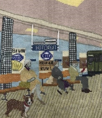 Hötorgets tunnelbanestation 1964av Magnus Östling