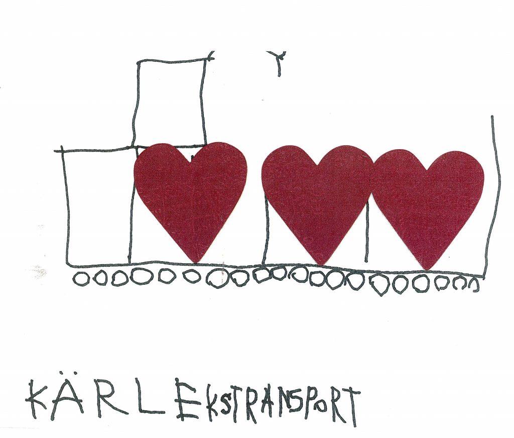 Kärlekstransport av Gabriel Bryngelsson