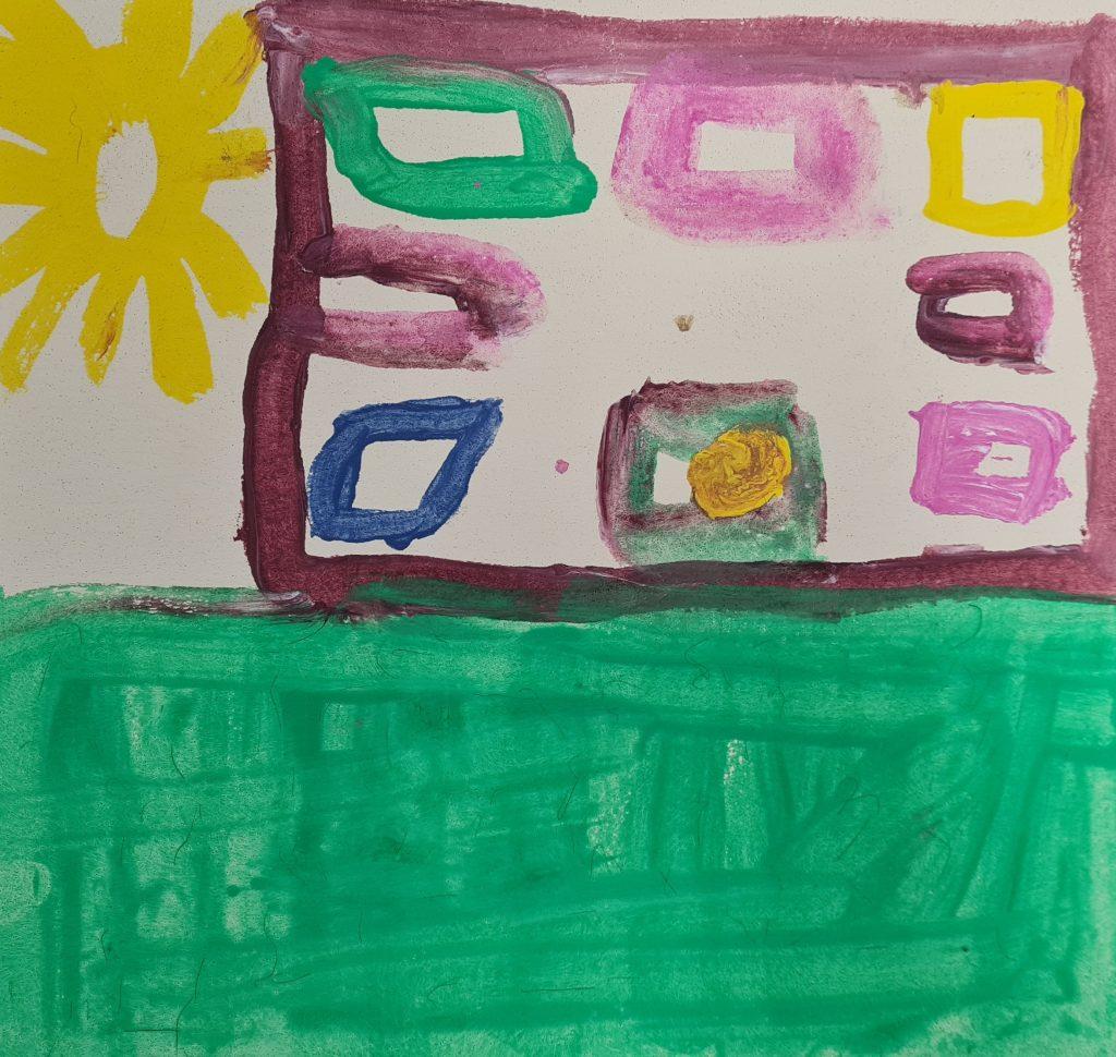 Lilla huset på prärien av Jonatan Jensen