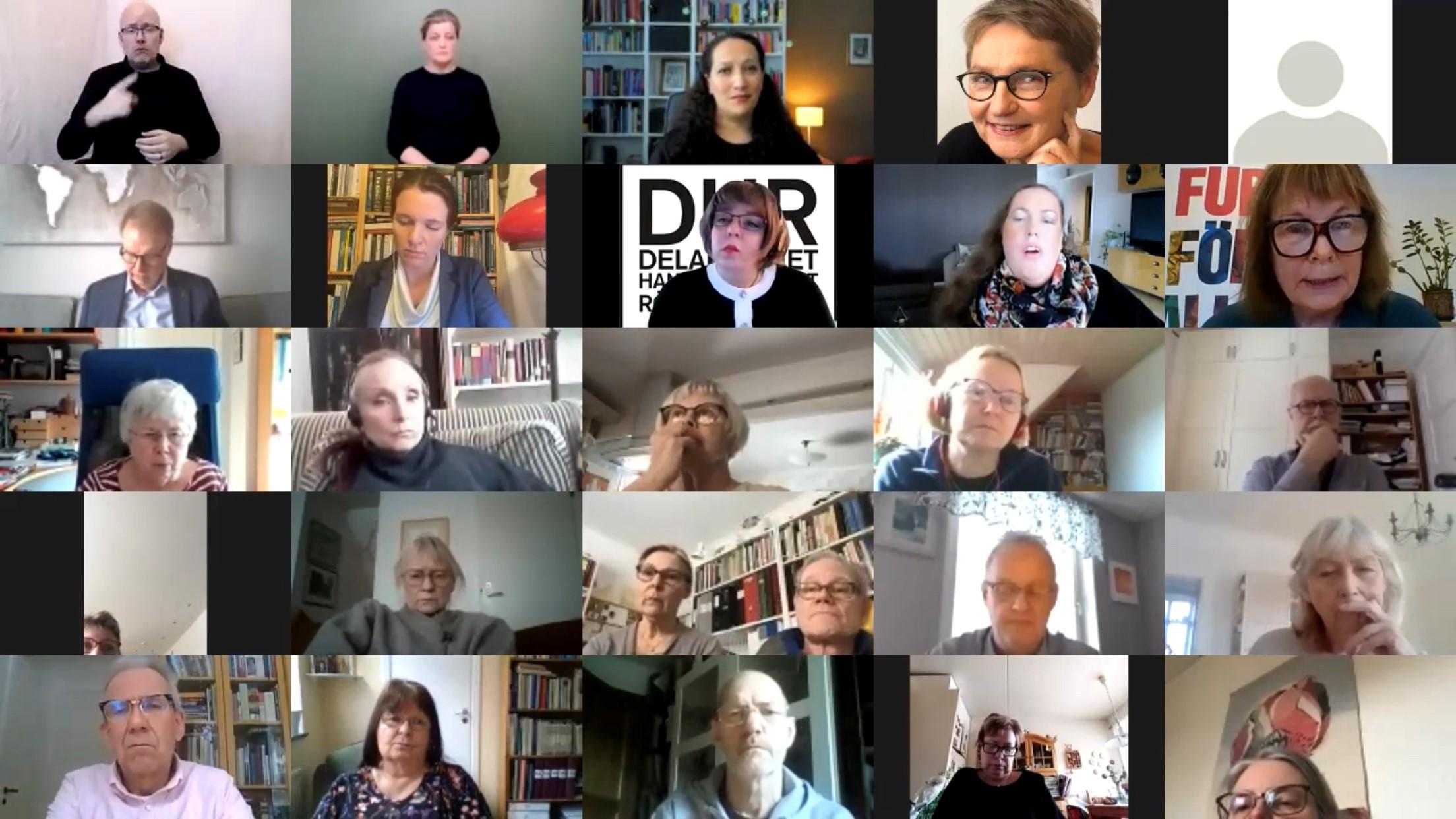 Riksdagsseminarium om institutioner 10 mars 2021