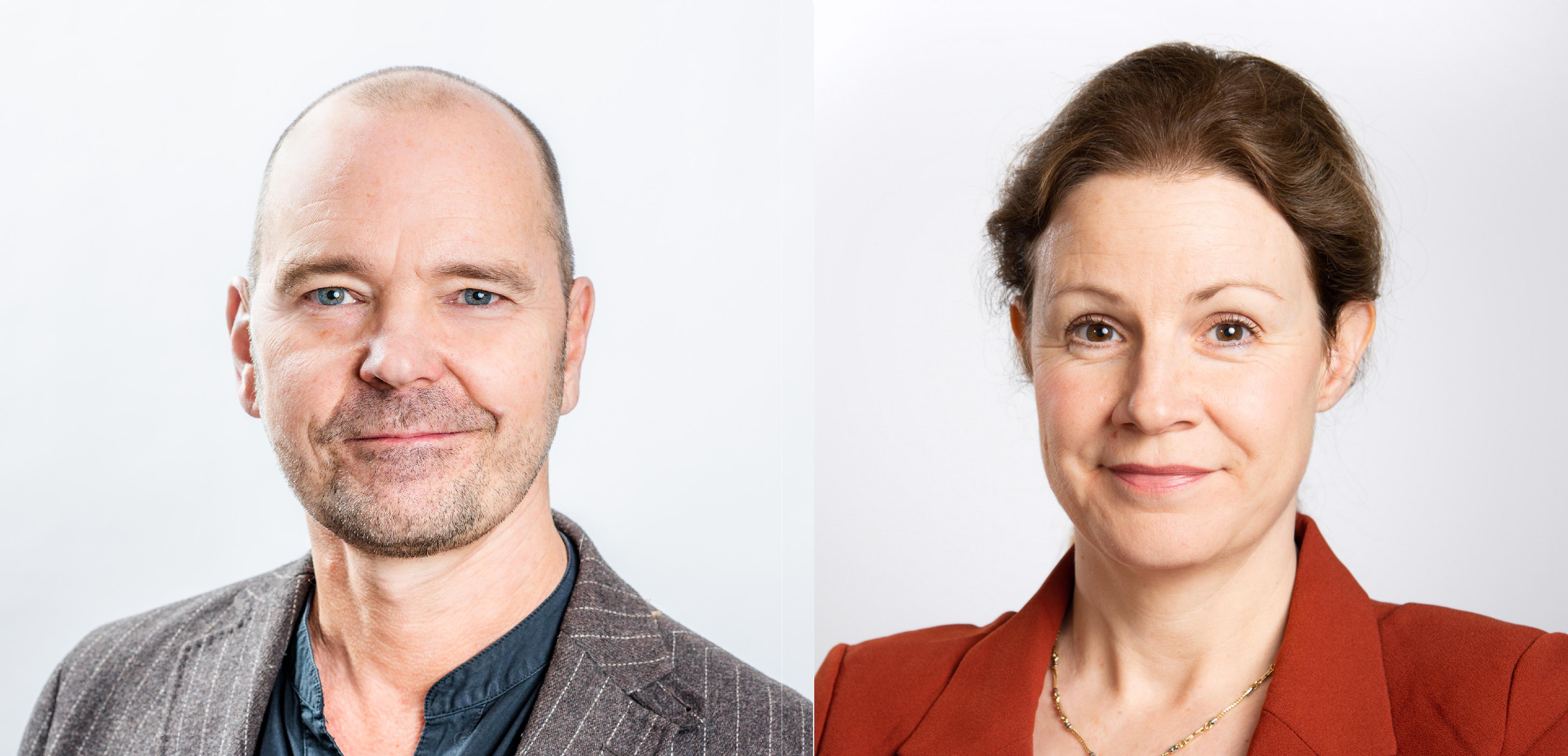 Robert Öberg och Christina Heilborn, FUB