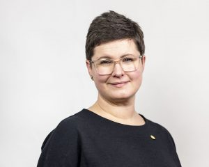 Ida Kåhlin förbundsordförande Sveriges Arbetsterapeuter Foto: Alexander Mahmoud