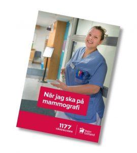 Framsida foldern När jag ska på mammografi