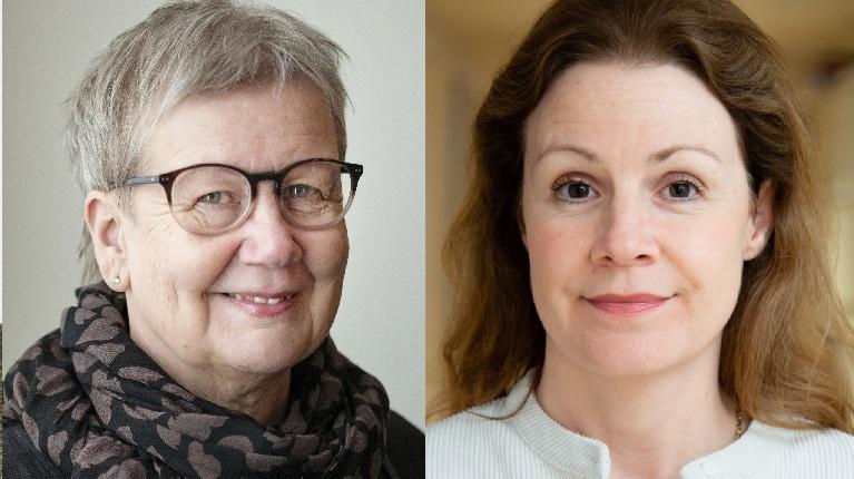 Ulla Adolfsson och Christina Heilborn
