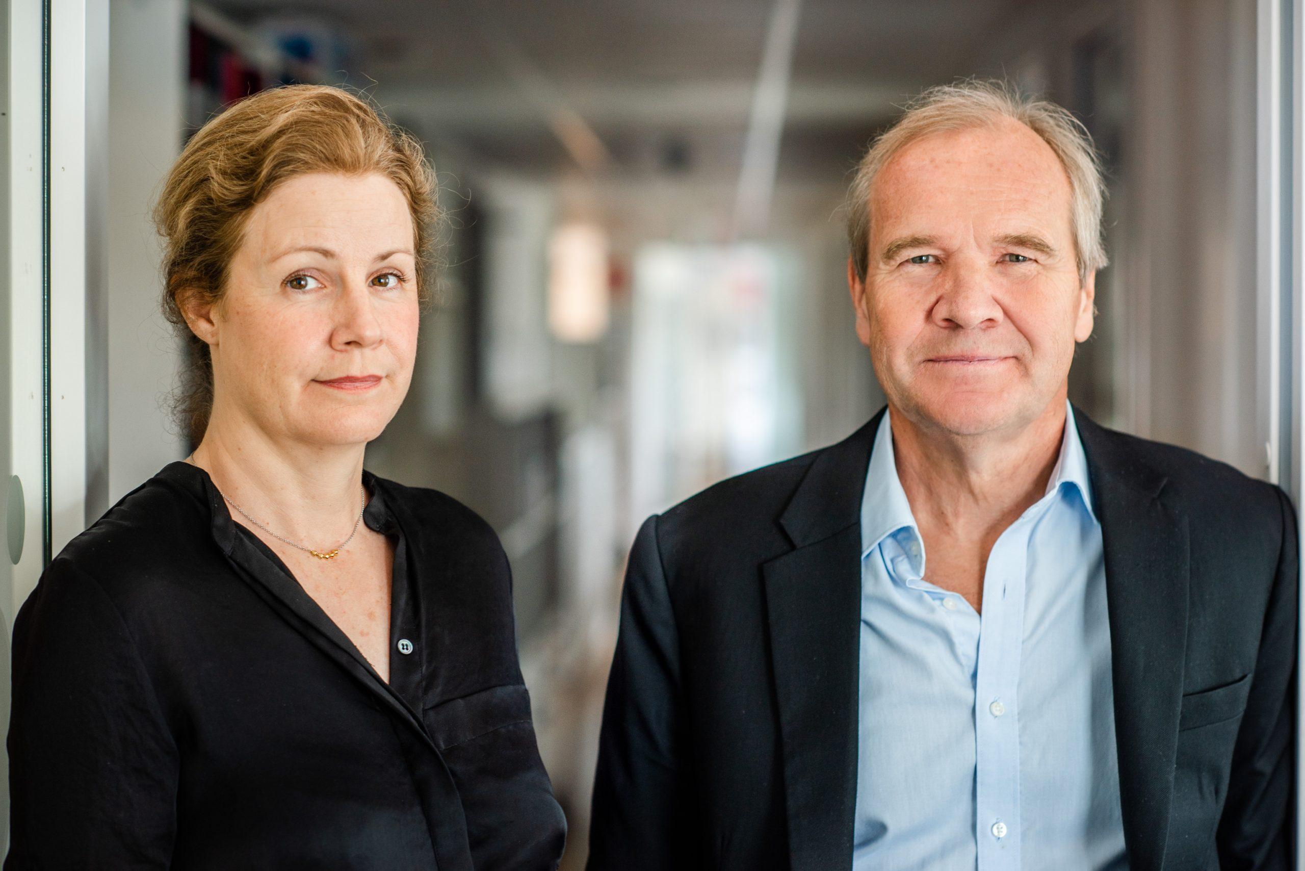 Christina Heilborn, FUB:s förbundssekreterare, och Anders Lago, FUB:s förbundsordförande