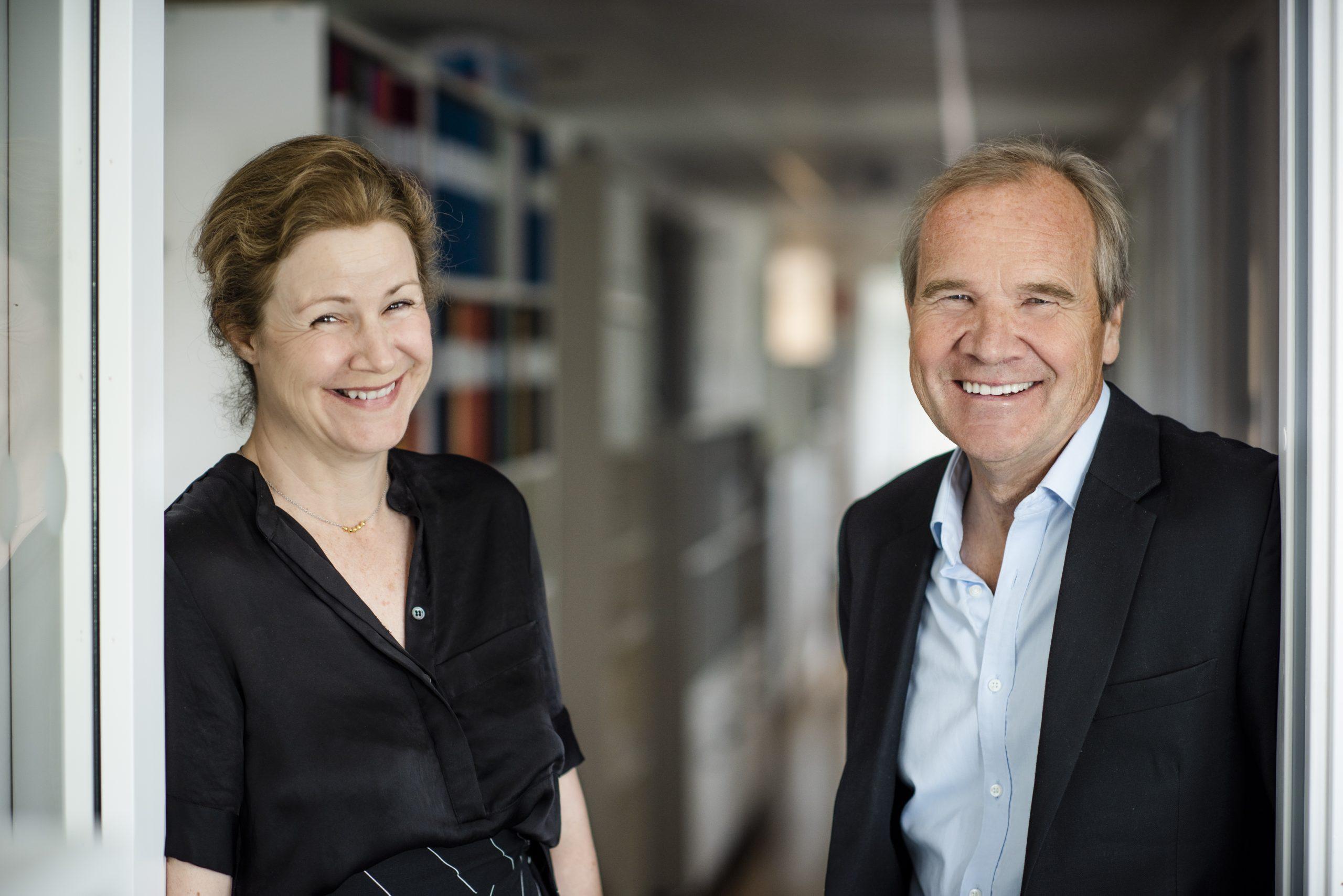 Christina Heilborn och Anders Lago Foto: Linnea Bengtsson
