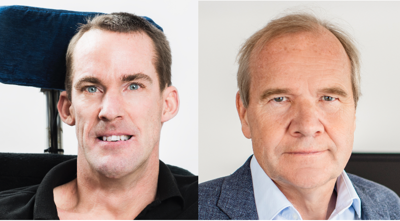 Markus Petersson och Anders Lago